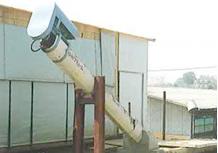 堆肥搬送用スクリューコンベアー